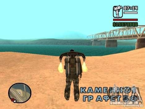 A água de padrão para GTA San Andreas por diante tela