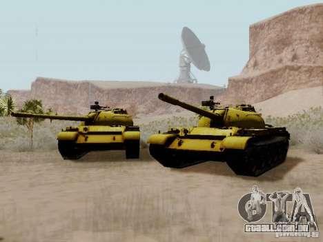 Type 59 GOLD Skin para GTA San Andreas vista direita