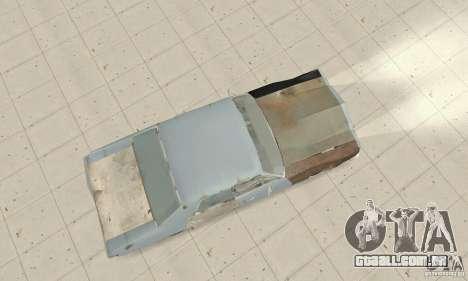 Pontiac LeMans 1970 Scrap Yard Edition para GTA San Andreas vista direita
