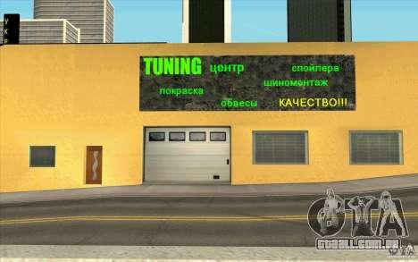 UkrAVTO Corporation para GTA San Andreas por diante tela