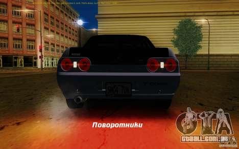 Nissan Skyline GT-R R32 1993 Tunable para as rodas de GTA San Andreas