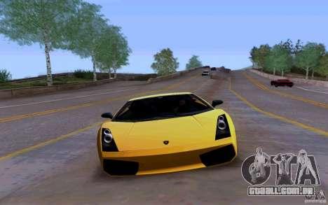 Lamborghini Gallardo Superleggera para GTA San Andreas esquerda vista