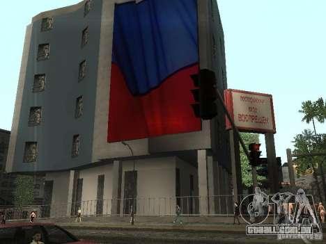 A embaixada russa em San Andreas para GTA San Andreas
