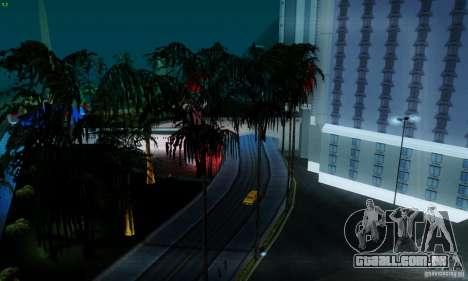 Marty McFly ENB 2.0 California Sun para GTA San Andreas quinto tela