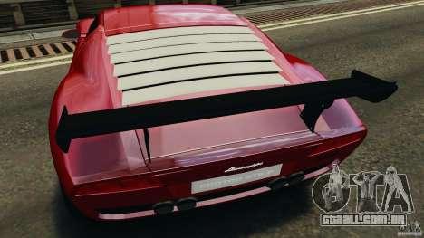 Lamborghini Miura 2006 para GTA 4 vista inferior