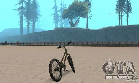 Trial bike para GTA San Andreas esquerda vista