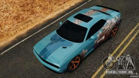 Dodge Rampage Challenger 2011 v1.0 para GTA 4 vista superior