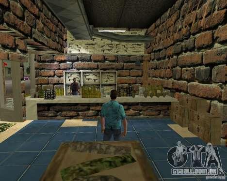 New Downtown: Ammu Nation para GTA Vice City