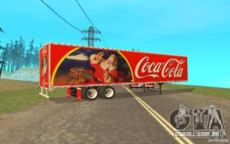 O reboque para o Peterbilt 379 personalizado Coc para GTA San Andreas