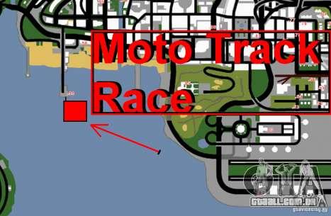 Moto Track Race para GTA San Andreas sexta tela