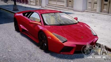 Lamborghini Reventon Final para GTA 4 vista interior