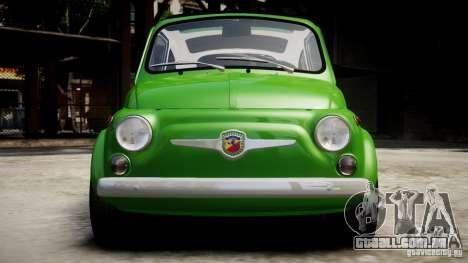 Fiat Abarth 595 SS 1968 para GTA 4 vista direita