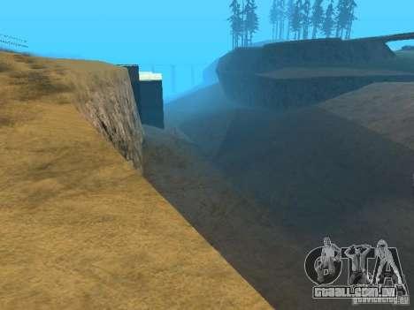 Não há água para GTA San Andreas