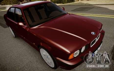 BMW M5 (E34) 1995 v1.0 para GTA 4 vista interior