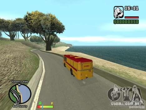 Assistência técnica LIAZ 677 HBI para GTA San Andreas vista direita