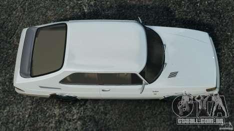 Saab 900 Coupe Turbo para GTA 4 vista direita