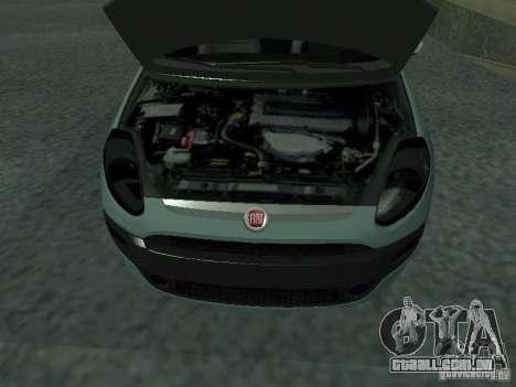 Fiat Punto EVO SPORT 2010 para GTA San Andreas vista direita