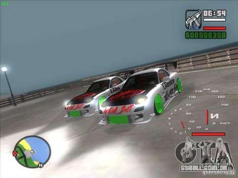 Mazda RX-7 Drift Version para GTA San Andreas vista direita