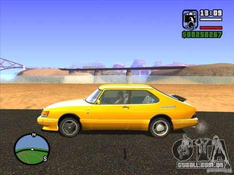 ENBSeries v2.0 para GTA San Andreas por diante tela