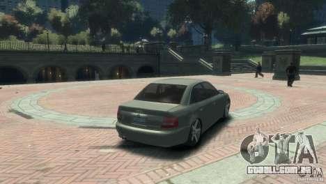 Audi S4 para GTA 4 esquerda vista
