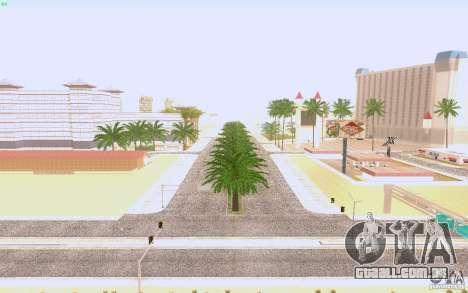 Asfalto de HQ em Las Venturase para GTA San Andreas terceira tela