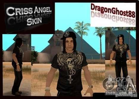 Criss Angel Skin para GTA San Andreas