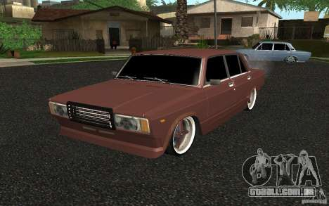 VAZ-2107 carro Tuning para GTA San Andreas
