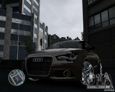 Audi A1 v.2.0 para GTA 4 traseira esquerda vista