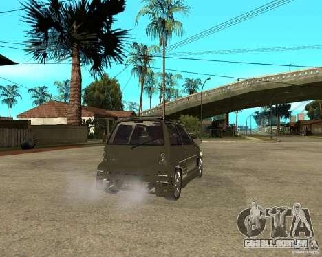 OKA 1111 Z.V.E.R. Tuning para GTA San Andreas traseira esquerda vista