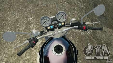 Kawasaki Zephyr para GTA 4 vista de volta