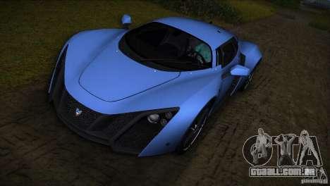 Marussia B2 2010 para GTA Vice City