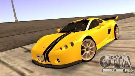 Ascari A10 para GTA San Andreas vista interior