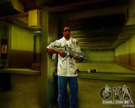 Tavor Tar-21 Digital para GTA San Andreas terceira tela