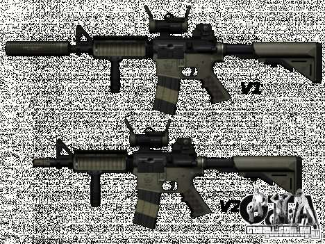 M4 de Call of Duty: Modern Warfare para GTA San Andreas