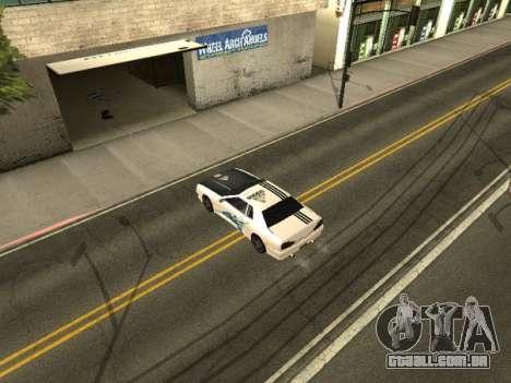 Vinil para Elegy para GTA San Andreas segunda tela