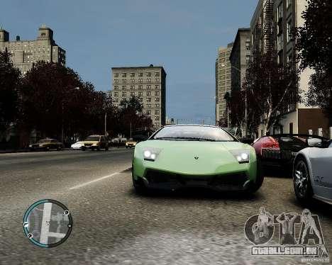 Lamborghini Murcielago LP 670-4 SuperVeloce 2010 para GTA 4 vista interior