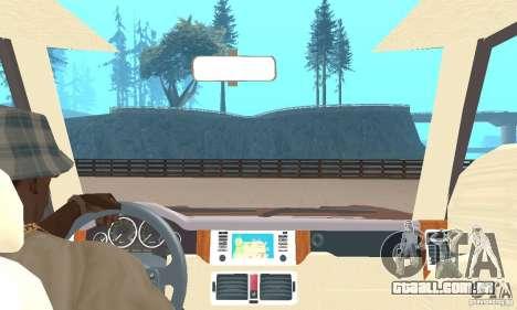 Range Rover Vogue 2004 para GTA San Andreas vista traseira