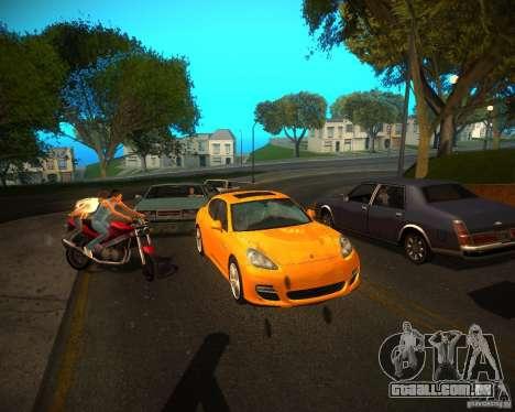 ENBSeries Realistic para GTA San Andreas por diante tela
