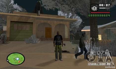Monster energy suit pack para GTA San Andreas por diante tela