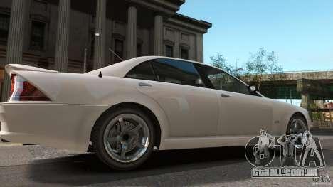 Schafter LT para GTA 4 traseira esquerda vista