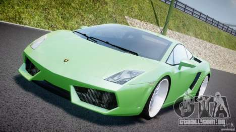 Lamborghini Gallardo LP 560-4 DUB Style para GTA 4 vista interior