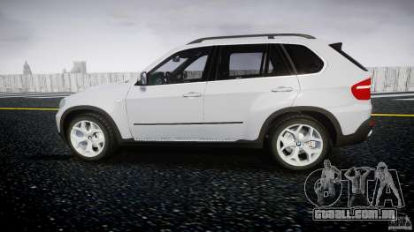 BMW X5 Experience Version 2009 Wheels 214 para GTA 4 esquerda vista