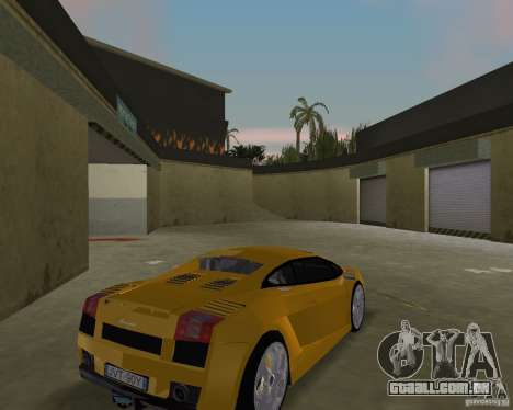 Lamborghini Gallardo v.2 para GTA Vice City vista direita