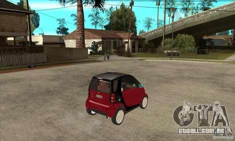 Smart para GTA San Andreas vista direita