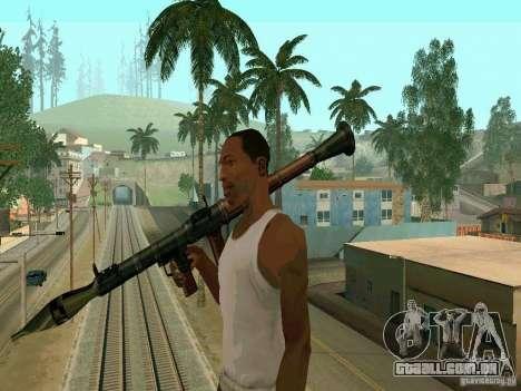 RPG de BF2 para GTA San Andreas