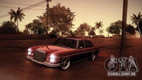 Mercedes Benz 300 SEL - Custom RC3D Edit para GTA San Andreas vista superior