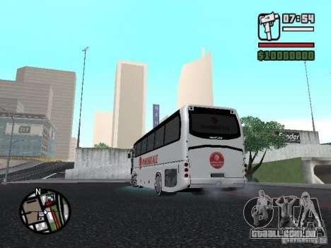 Neoplan Tourliner para GTA San Andreas esquerda vista