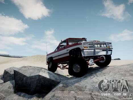 Rancher XL 3.0 para GTA 4 traseira esquerda vista