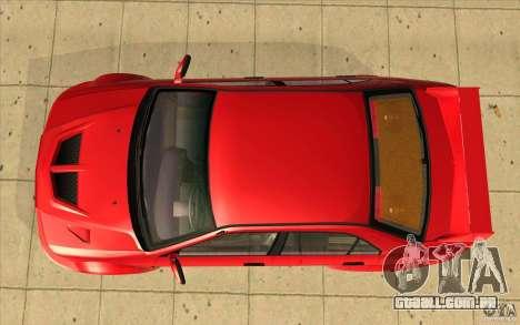 Mitsubishi Lancer Evo 6 para GTA San Andreas vista direita
