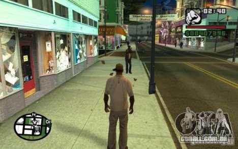 Jogue em transeuntes por lixo para GTA San Andreas segunda tela